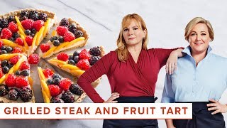 Download How to Make Summery Favorites like Grilled Flat Iron Steaks and Fresh Fruit Tarts Video