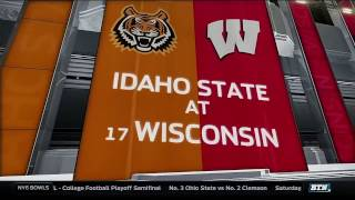 Download Idaho State at Wisconsin - Men's Basketball Highlights Video