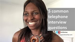 Download Phone interview questions and answers - 5 tips (use today!) Video