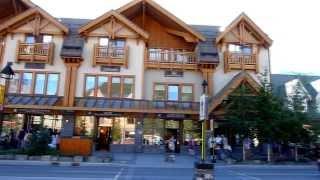 Download BANFF AVENUE, Banff, Alberta, Canada Video