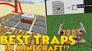 Download THE BEST TRAPS IN MINECRAFT SECURITY MODDED CHALLENGE! | Minecraft Mod Minigame Video