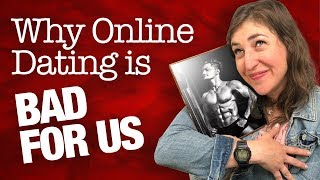 Download Why Online Dating Is Bad For Us || Mayim Bialik Video