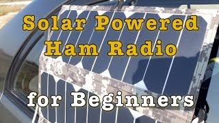 Download Solar Powered Ham Radio for Beginners Video