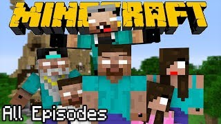 Download ONE HOUR of If Herobrine had a Family - All Episodes | Minecraft Video