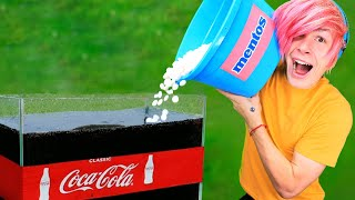 Download Experiment: 20 GALLONS OF COCA COLA VS 1000 MENTOS Video