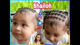 Peinados para bebes en cabello corto