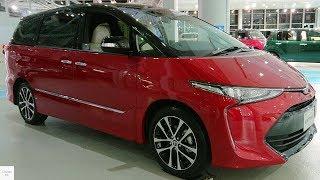 Download 2019 Toyota Previa/Estima 2.4 Aeras 2WD / in depth Walkaround Exterior & interior Video