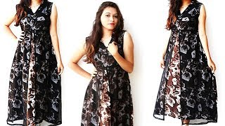 Download DIY Designer double Layer Kurti Cutting And Stitching Full Tutorial Video