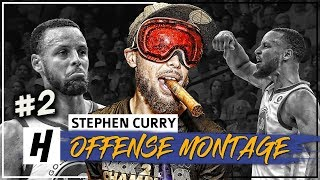 Download Stephen Curry MVP Montage, Full Offense Highlights 2017-2018 (Part 2) - CHEAT-CODE Mode! Video