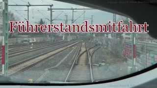 Download Führerstandsfahrt ICE 3 Siegburg / Bonn - Frankfurt Flughafen ( Vmax 300 Km/h) Video