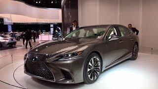 Download 2018 Lexus LS500 – Redline: First Look – 2017 NAIAS Video