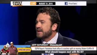 Download ESPN First Take What Should Happen Next with RG3 Robert Griffin III Video