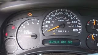 Download GM Chevy Truck: Airbag Warning Light B0044 -Part 1 Video