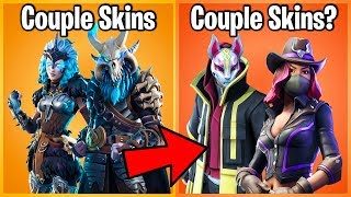 Download 10 FORTNITE SKINS YOU DIDN'T KNOW ARE COUPLES! (duo fortnite skins) Video