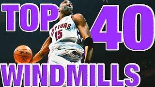 Download Vince Carter's BEST Windmills From The NBA Vault! Top 40 Countdown Video
