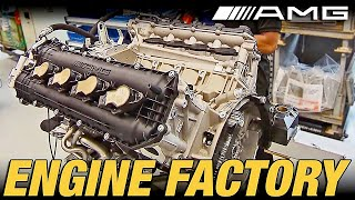Download ► Mercedes-AMG Engine Factory Video