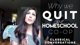 Download Why we QUIT our Homeschool Co-op | Quitting Classical Conversations Video