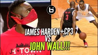 Download James Harden+CP3 VS John Wall! JH-Town Weekend Charity Game! Video