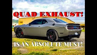 Download QUAD EXHAUST is an ABSOLUTE MUST! Video