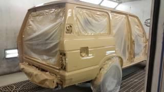 Download Wiegman4x4.eu Toyota Land Cruiser 60 paintjob, FJ60 with airlocker installation (part 1) Video