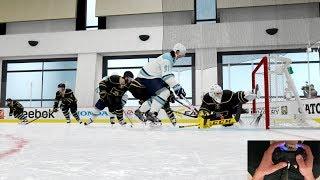 Download NHL 18 Beta - Top EASHL Club Gameplay | Composure vs Bomb Squad [THUMB CAM] Video