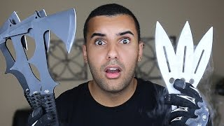 Download IMPOSSIBLE THROWING KNIFE / TOMAHAWK TRICK SHOTS!!!! CHALLENGE!! *WORLD RECORD* Video