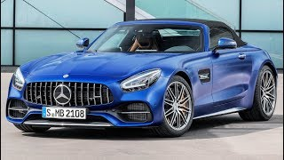 Download 2019 Mercedes AMG GT C Roadster - Pure Driving Performance Video