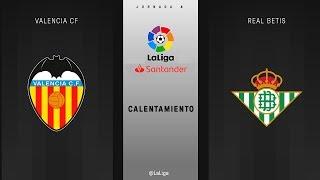Download Calentamiento Valencia CF vs Real Betis Video