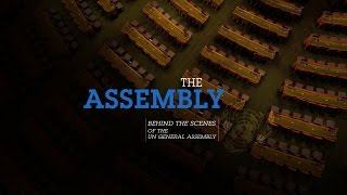 Download Behind the scenes of the UN General Assembly Video