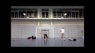 Download Futsal Goalkeeper Training - Andy Reading - December 2012 / January 2013 Video