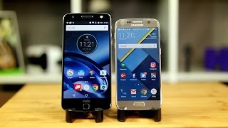 Download Moto Z vs Galaxy S7: The better jack of all trades? Video
