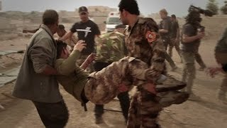 Download Foreign medics help to treat wounded in Iraq's Mosul Video