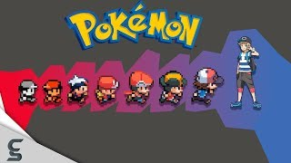 Download The Evolution of Video Game Graphics: Nintendo - Pokemon (1996 - 2017) Video