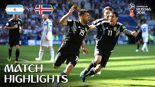 Download Argentina v Iceland - 2018 FIFA World Cup Russia™ - MATCH 7 Video