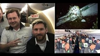 Download PLANE DISASTER Colombia plane crash Lionel Messi and Argentina football team on same aircraft week Video