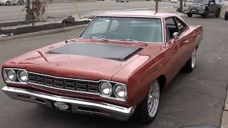 Download 1968 Plymouth Road Runner $38,900.00 Video