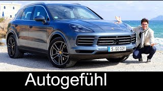 Download Porsche Cayenne FULL REVIEW 2018 all-new neu Cayenne V6 test - Autogefühl Video