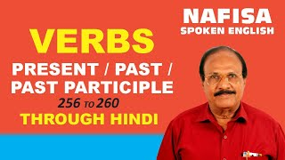 Download Spoken English through Hindi. Some verbs with their Hindi meanings ( 52 ) Video