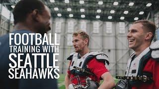 Download American Football Training   Seattle Seahawks   Eintracht Frankfurt Video