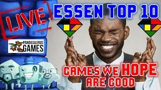 Download Essen Top 10: Games We HOPE Are Good Video