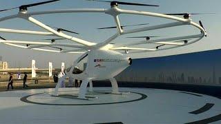 Download دبي تختبر أول تاكسي طائر في العالم بدون طيار Video