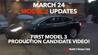 Download First video of Model 3 production candidate | Model 3 Owners Club Video
