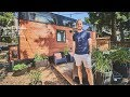 Modern Beautiful Tiny House Tour with all Amenities. // Tiny home on Wheels.
