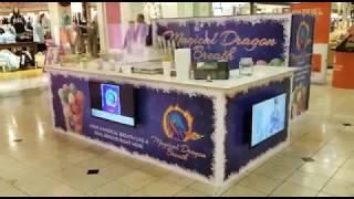 Download Magical Dragon Breath Kiosk Graphic Design & Print Video