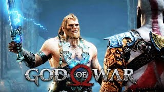 Download MAGNI AND MODI vs KRATOS Full Boss Fight (Thor's Sons) GOD OF WAR 2018 [PS4 PRO] Video