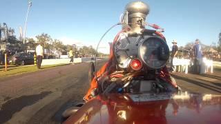 Download blown flathead dragster run Video
