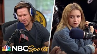 Download Mark Wahlberg raps in front of teenage daughter | The Dan Patrick Show | NBC Sports Video