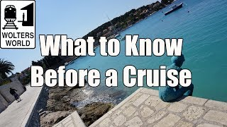 Download Cruise Travel - What You Should Know Before You Take a Cruise Video