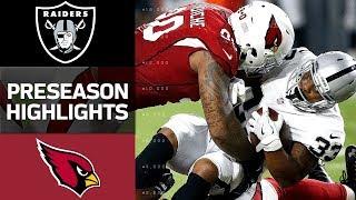 Download Raiders vs. Cardinals | NFL Preseason Week 1 Game Highlights Video