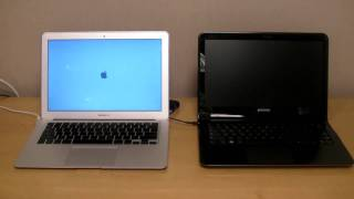 Download Samsung Series 9 vs. MacBook Air - Boot Time Video